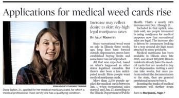 Chicago Tribune Cannabis